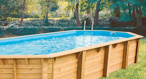 prix piscine bois