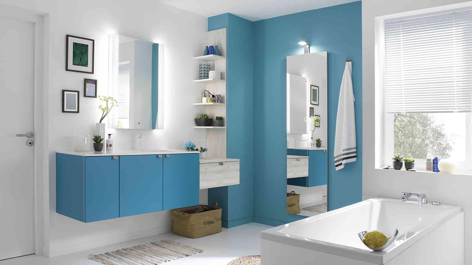 Carrelage Salle De Bain Bleu Turquoise prix salle de bain | tarif moyen et devis gratuit en ligne